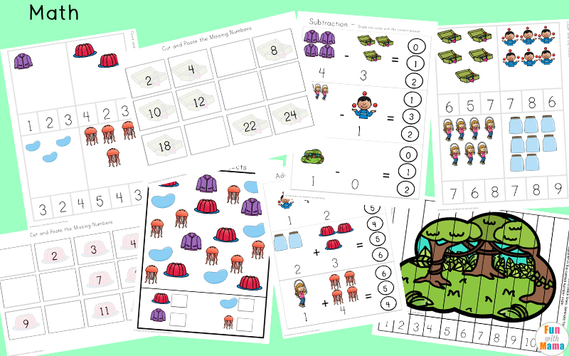 letter j worksheets for pre k