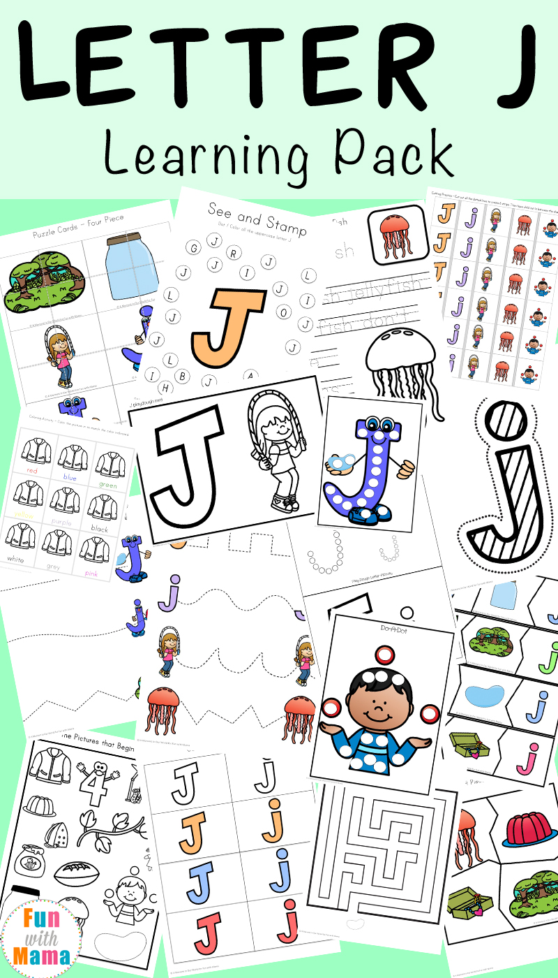 Free Alphabet Printable Packs