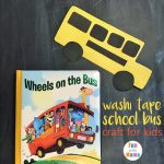 Fun Washi Tape School Bus Craft For Kids