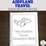 Travel Adventure Airplane Activity Book For Kids