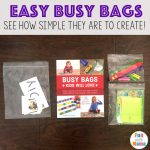 Easy Busy Bags Kids Will Love!