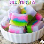 Unicorn Inspired Food: Unicorn Yogurt Bites