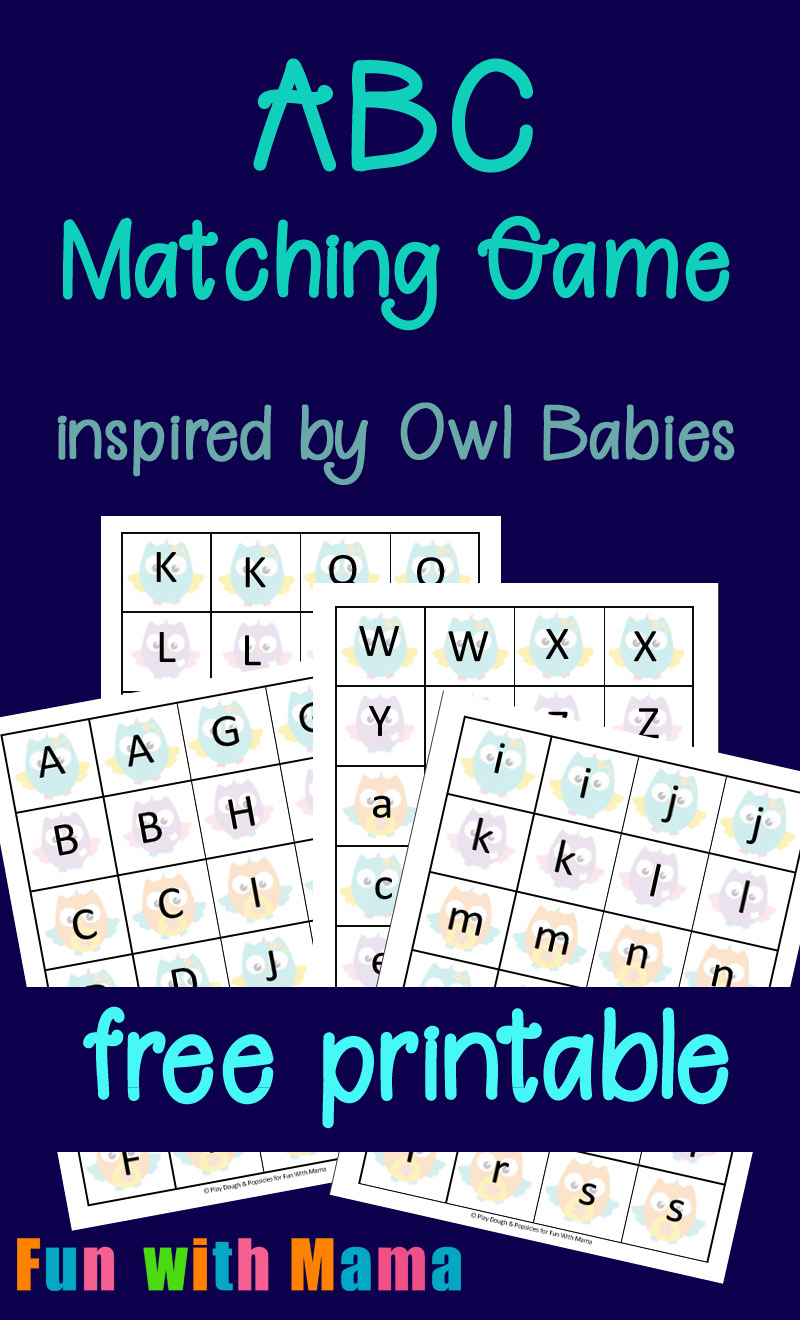 It is a picture of Vibrant Printable Alphabet Games