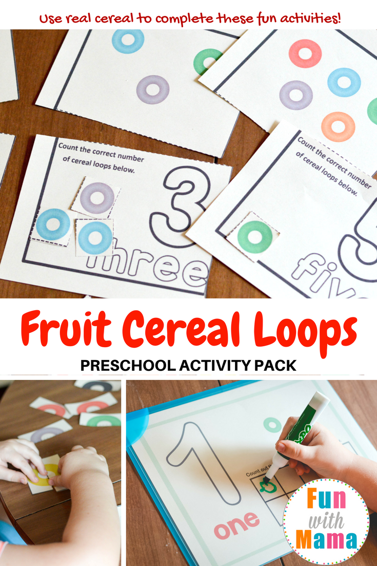 fruit loops activities for preschool printable fun with mama