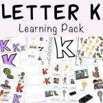Letter K Activities for Preschool Printable Pack