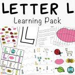 Letter L Activities for Preschool + Kindergarten Pack