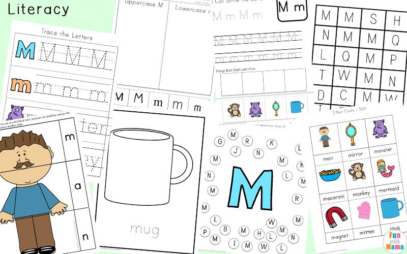 letter m lesson plans