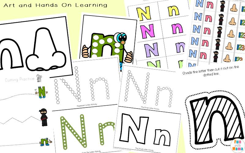 letter n crafts