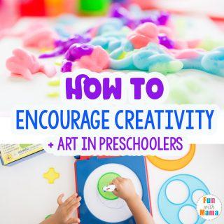 How To Encourage Creativity In Preschoolers