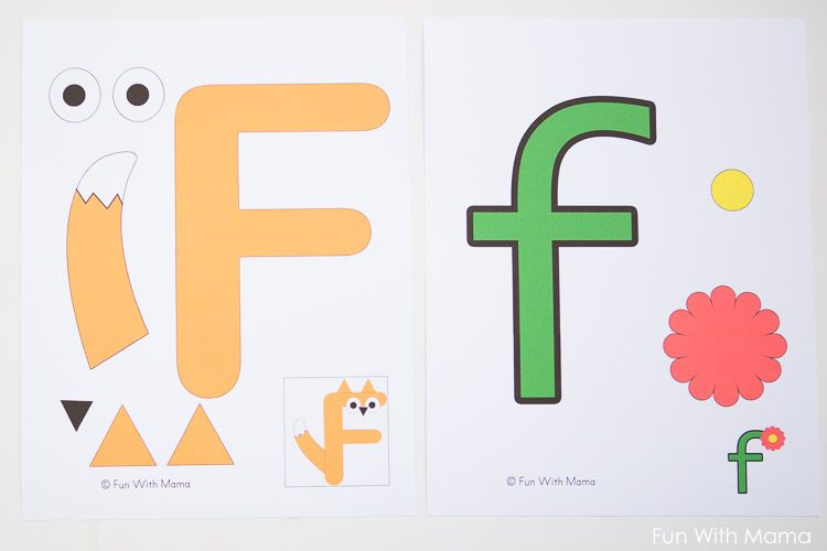 Free Letter F Printable Pack - Fun with Mama