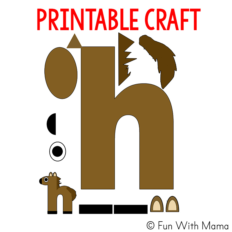 Abc Crafts For  Year Olds