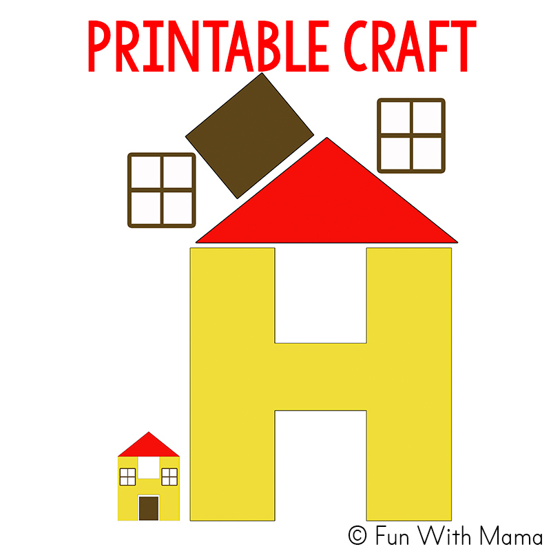 Letter H Activities on Letter I Crafts For Preschoolers
