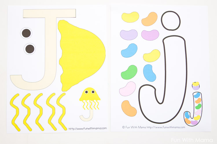 letter j template preschool - letter j activities for preschool kindergarten pack