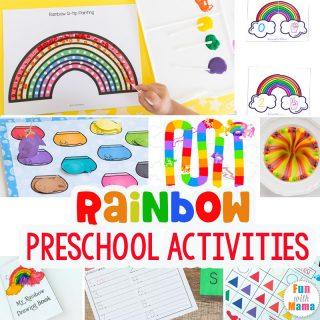 The Best Rainbow Learning Activities for Preschoolers