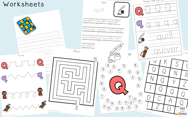 Literacy Worksheets For Kids