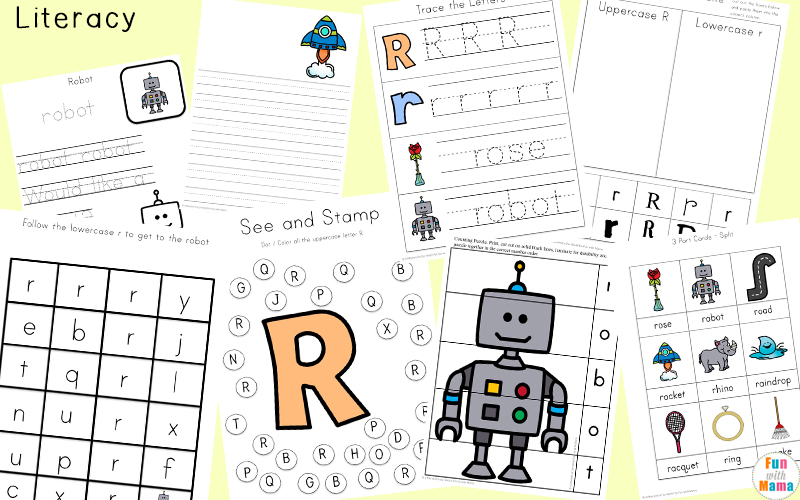 Letter Recognition and Handwriting Practice Printables For Kindergarten