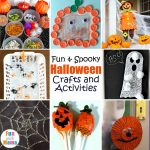 25+ Fun & Spooky Halloween Crafts and Activities
