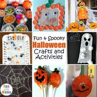 25+ Fun & Spooky Halloween Crafts and Activities
