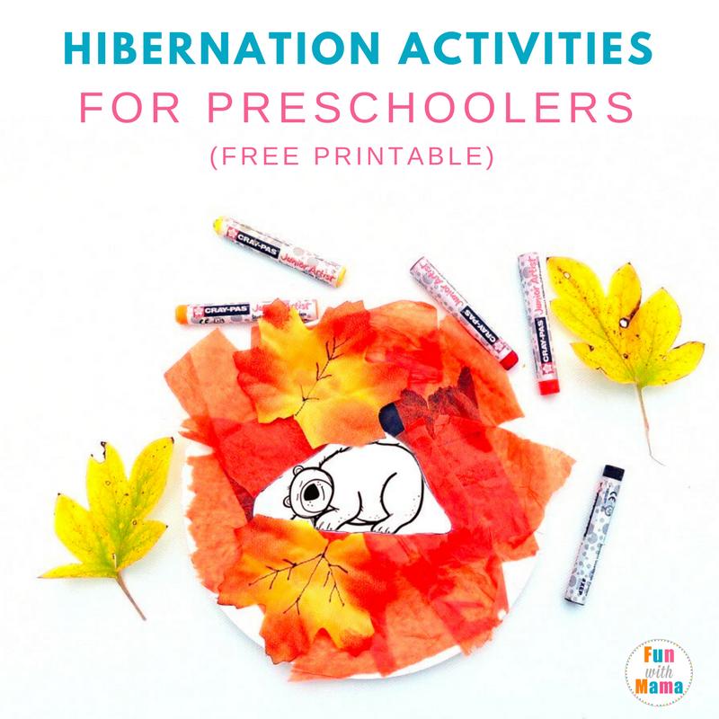 Hibernation Activities For Preschoolers