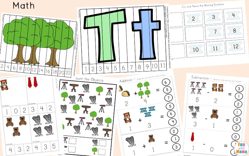 t lesson plans for kindergarten