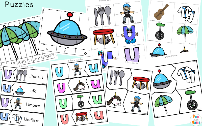 letter u activities for preschool