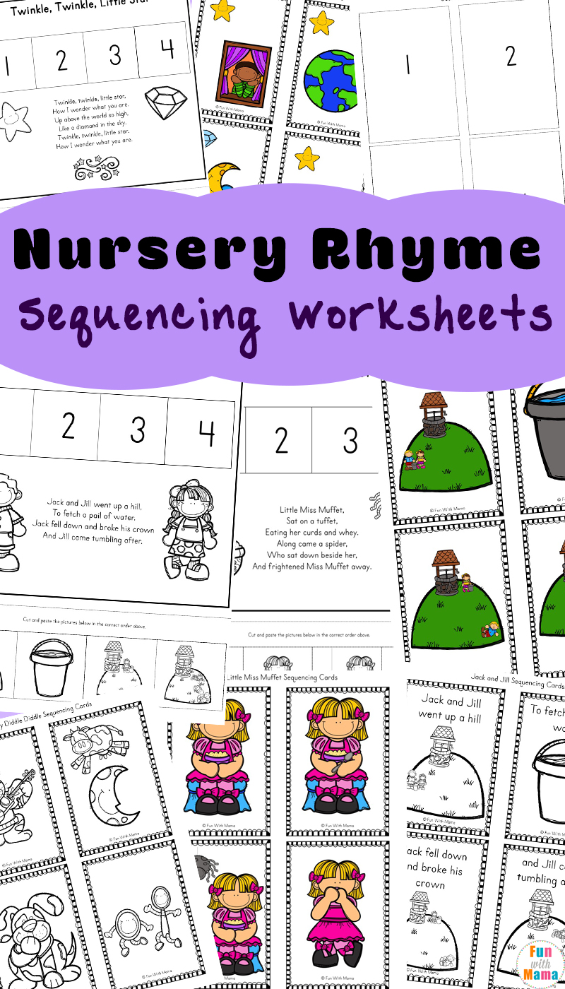 Free Nursery Rhymes Sequencing Activities Fun With Mama