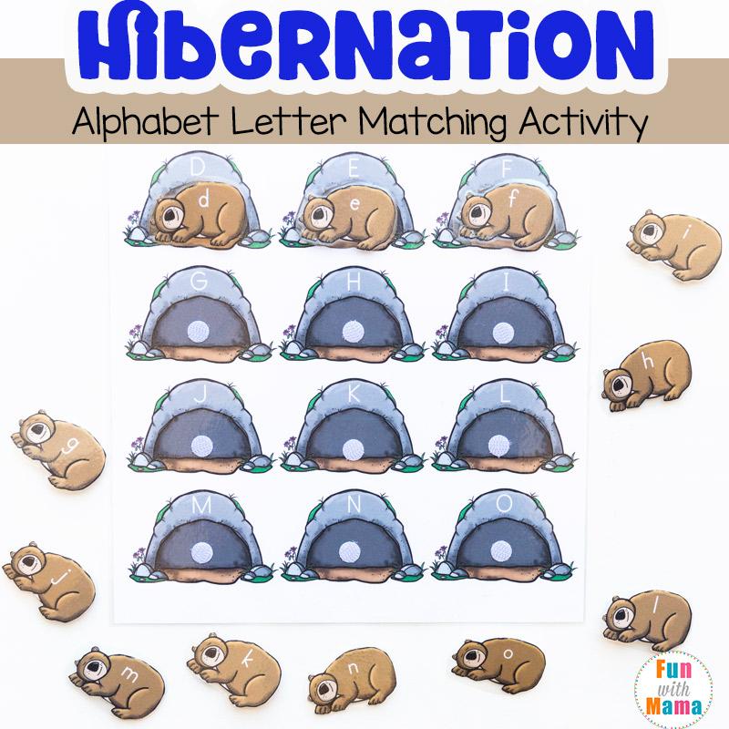 Hibernation Activities For Preschoolers - Fun with Mama