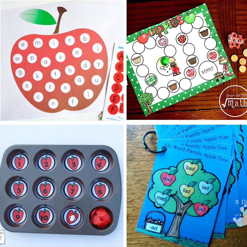 50 Fun Apple Activities For Preschoolers Kindergarten
