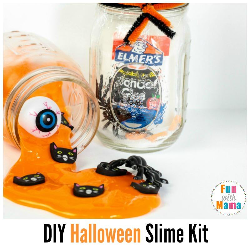 diy halloween slime kit science activities for kids