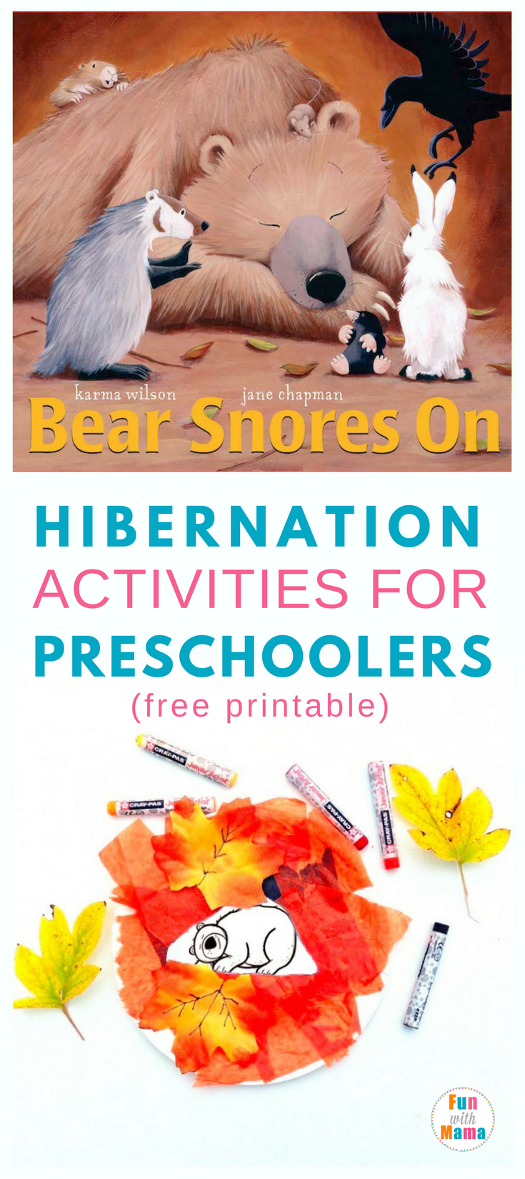 Hibernation activities for preschoolers fun with mama for Hibernation crafts for preschool