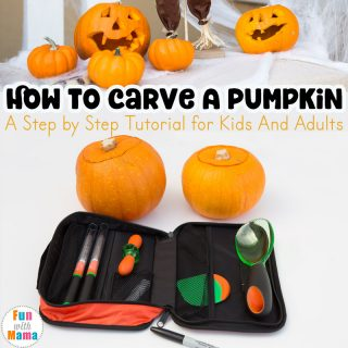 How to Carve A Pumpkin With Kids Step By Step