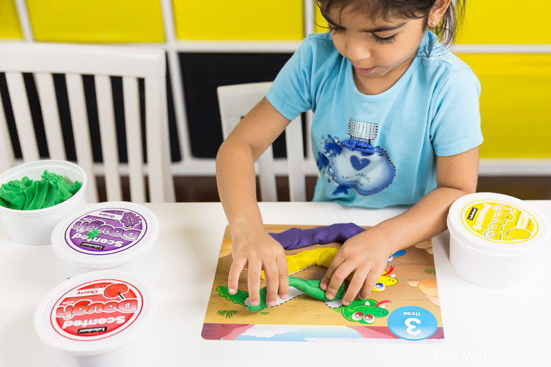 playdough activities for preschoolers