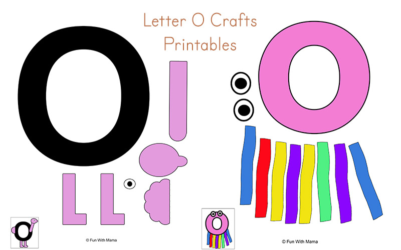 photograph about Letter O Printable referred to as Letter O Worksheets and Routines Pack - Entertaining with Mama