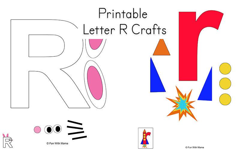 picture relating to Letter R Printable identified as Letter R Worksheets and Printable Preschool Actions Pack