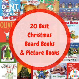 20 Best Christmas Board Books & Picture Books