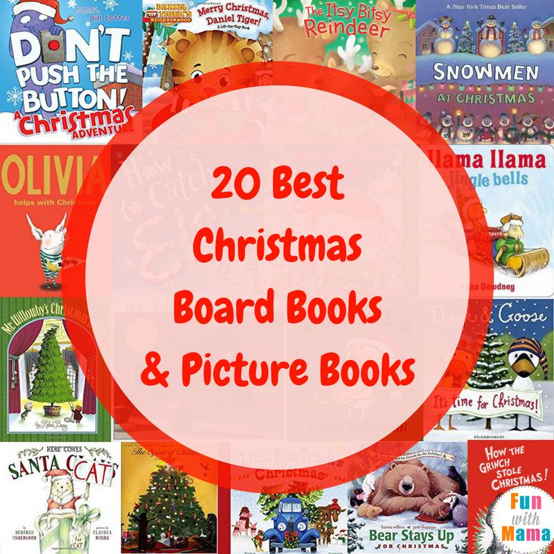 Christmas Books For Kids.20 Christmas Books For Kids Fun With Mama