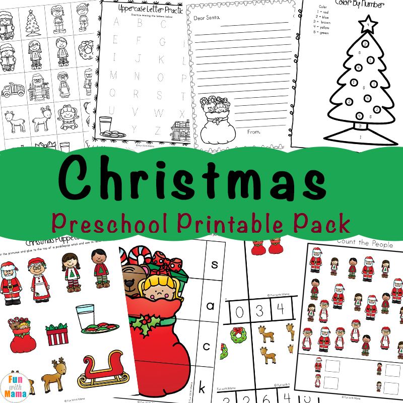 picture regarding Home and Family Christmas Workbook named No cost Printable Xmas Worksheets - Entertaining with Mama