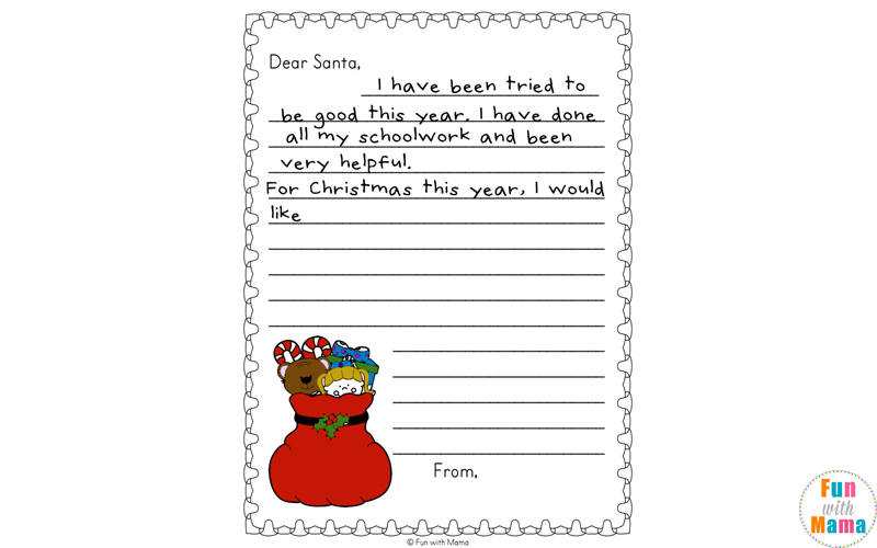 photograph about Free Printable Holiday Worksheets known as Cost-free Printable Xmas Worksheets - Pleasurable with Mama