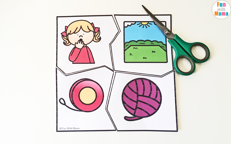 letter y puzzles