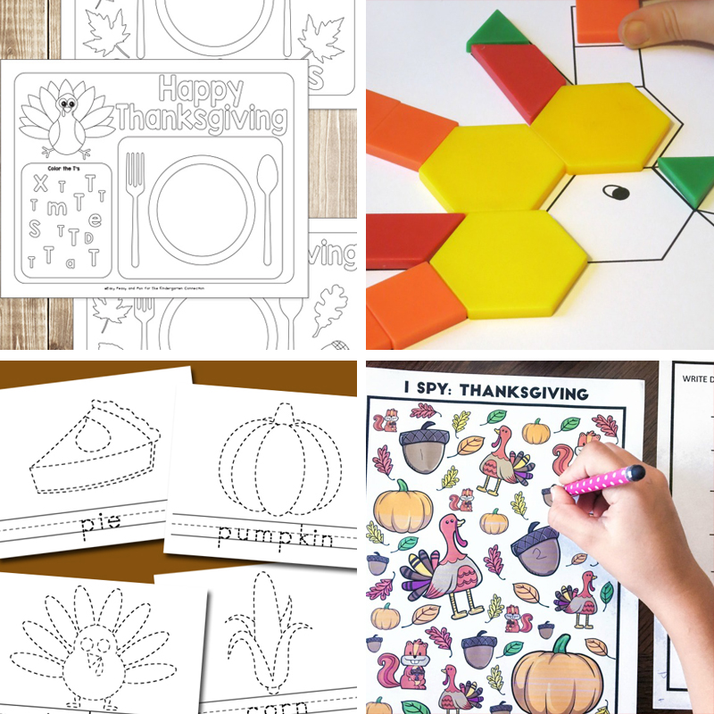 printable thanksgiving crafts