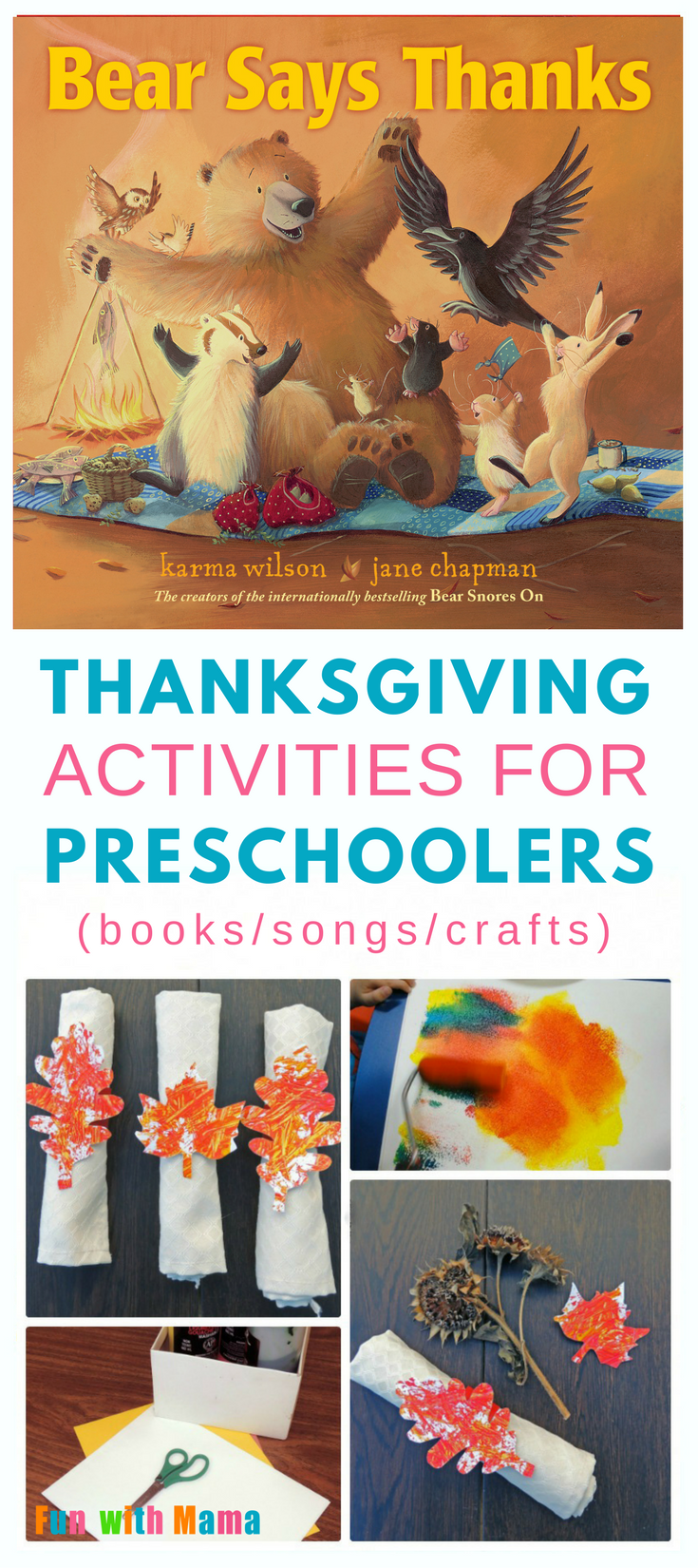 Thanksgiving activities| crafts | kids | free printable