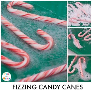 Fizzing Christmas Science Baking Soda Experiments