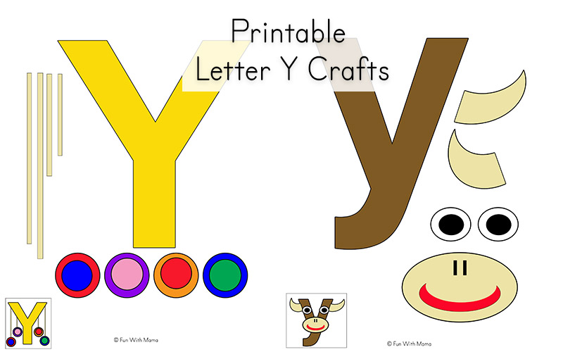 photo relating to Printable Letter Y referred to as Letter Y Worksheets For Preschool + Kindergarten - Exciting with Mama