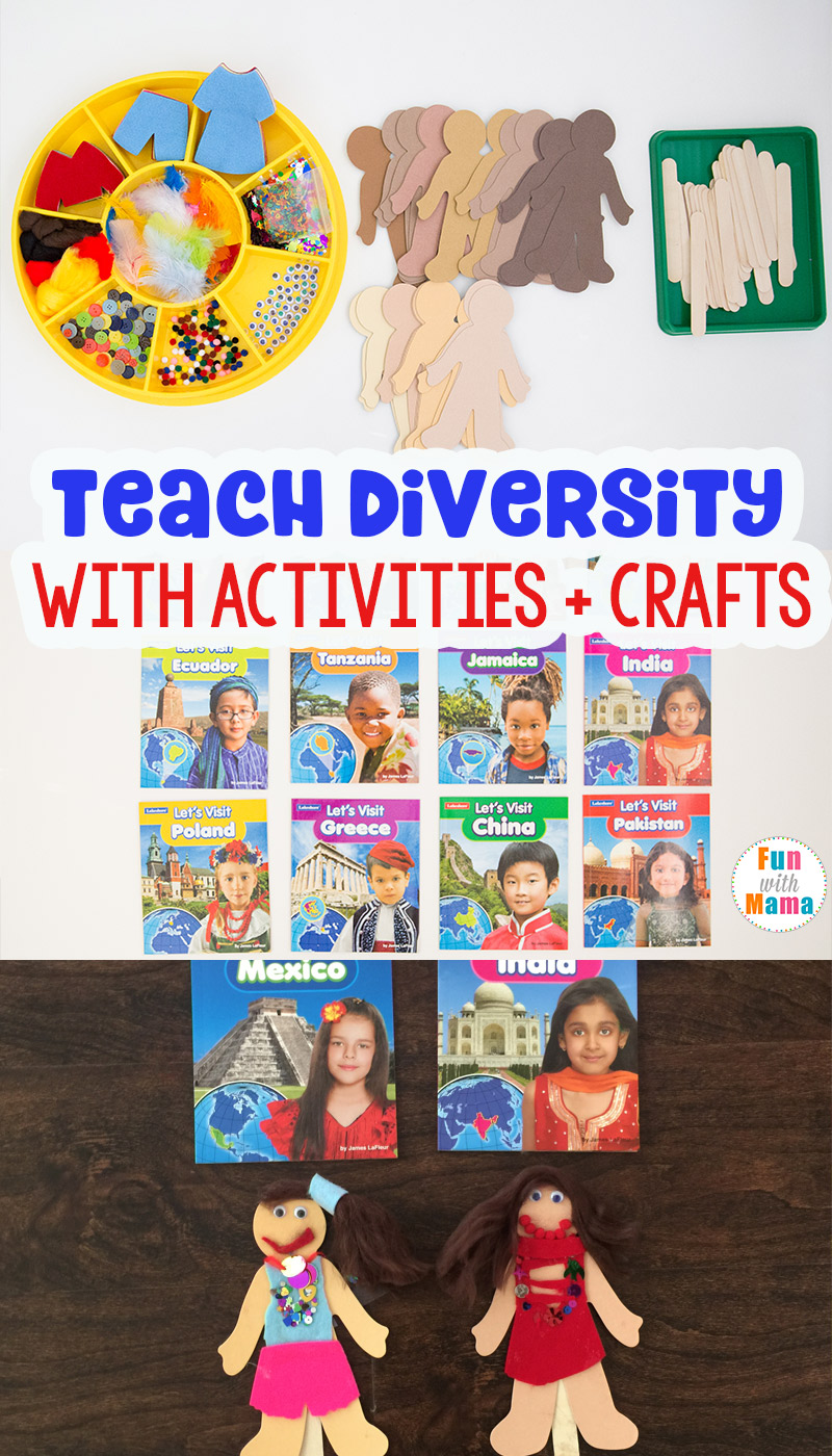 10 Cultural Diversity Activities For Elementary Students Fun With Mama
