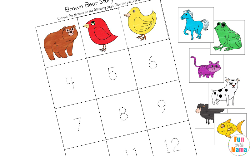 brown bear brown bear sequencing