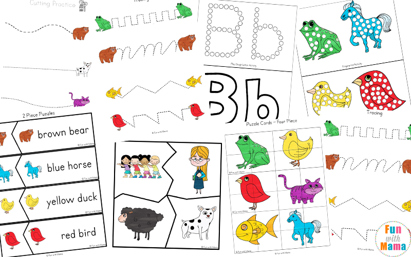 Brown Bear Brown Bear worksheets