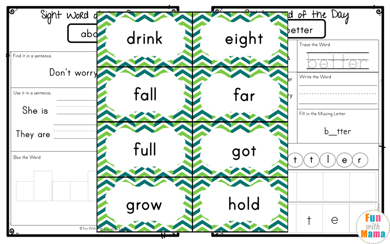 picture regarding Printable Sight Words identify Cost-free Dolch 3rd Quality Sight Phrases Worksheets - Exciting with Mama