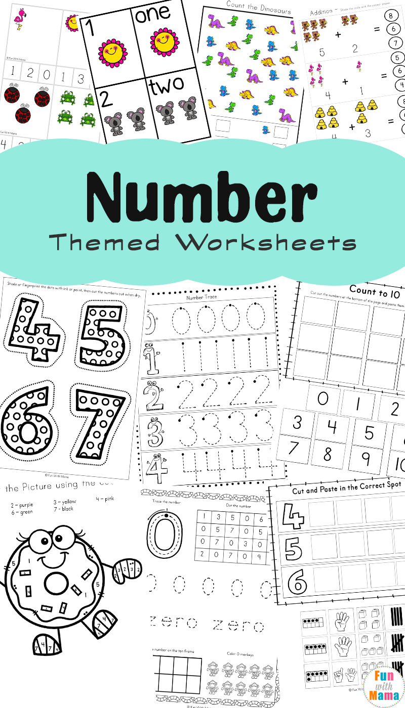 Help Kids Learn Numbers With These Fun Printables Fun With