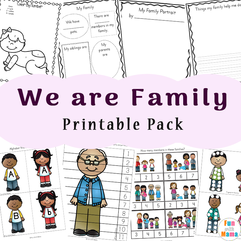family theme preschool