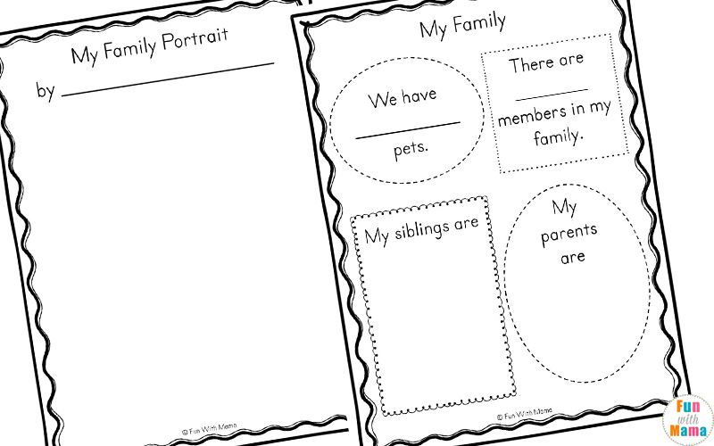 family tree worksheet